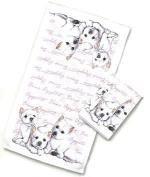 Westie West Highland Terrier Kitchen Dish Towel