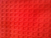 Waffle Hand Towel Dunroven House Orange - Pack of 6