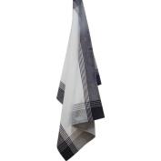 White & Black Stripe Mcleod Towel 50.8cm X71.1cm -