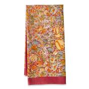 Couleur Nature Jardine Tea Towel, 50.8cm by 76.2cm , Red/Yellow