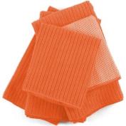 Orange Microfiber 5 Piece Kitchen Towel Set
