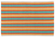 Now Designs Nova Stripe Kitchen Mat, Pool