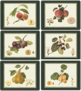 Pimpernel Hooker Fruits Placemats - Set of 6