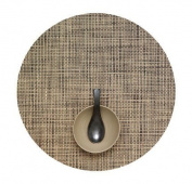 Chilewich Basketweave Round Placemat Bark d.38.1cm