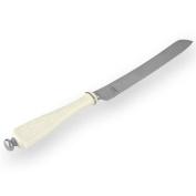 Lenox Opal Innocence Platinum-Banded Bone China Cake Knife