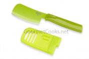 Kuhn Rikon Mini Prep Knife Colori® 7.6cm Mini Cheese Cleaver Green