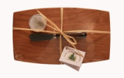 Out of the Woods of Oregon Pate Board with Walnut Spreader