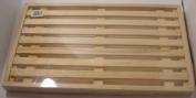 Bread Cutting board & crumb Holder 40x22x3cm Guaranteed quality