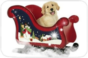 Golden Retriever Holiday Cutting Board