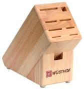 Wusthof 9-Slot Beechwood Knife Block