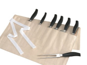 Rushbrookes Knife roll/wallet, cotton, 57.5 x 32cm