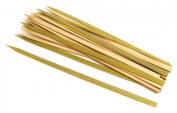 Steven Raichlen Best of Barbecue Wide Bamboo Grilling Kabob Skewers 30.5cm Long, Set of 25