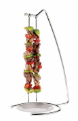 Paderno World Cuisine Stainless-steel Set of Four Grill Skewers and Stand
