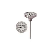 Tel-Tru UT300 Barbecue Thermometer, 7.6cm aluminium dial, 10.2cm stem, 50/550 degrees F