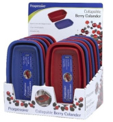 Progressive Housewares 12 Piece Display Collapsible Berry Colander CC-7CDP - Pack of 12