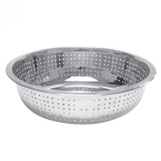 Excellante 11-Inch Stainless Steel Colanders with 2.0mm Holes