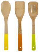 Core Bamboo Colourful Essentials Bamboo Utensil Set, Miami