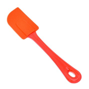 Chef Select Ergo Spatula with Silicone Head and Polystyrene Handle, Tangerine