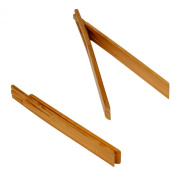 Enrico 1220 Bamboo Spring Tongs, Carbonised