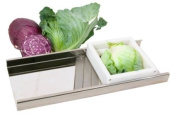 TSM Products Stainless Steel Cabbage Slicer