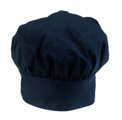 Ritz Pro Series Adjustable Black Chef's Hat, One Size Fits All