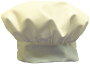 Phoenix Chef's Hat with hook and loop Close, White