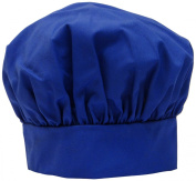 Phoenix Chef's Hat with hook and loop Close, Blue