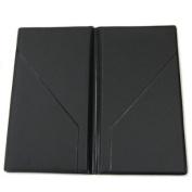 Cheque Presenter 5-1.3cm W x 9-1.9cm H, Black