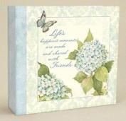 Lang Recipe Card Album - Blue Hydrangea