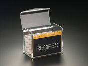 Recipe Box W/O Cards (Acrylic)