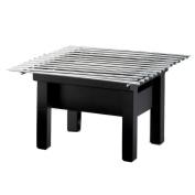 Cal-Mil Black Cook-N-Serve Modern Style 19.1cm . Riser w/ Windguard
