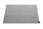 Zack 20885 Campos Place Mat, 46 x 33 cm, Silver/ Grey