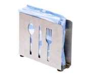 Cuisinox NAPFTW Napkin Holder with Cut Outs