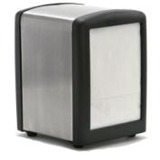 Half Size Black Napkin Holder Dispenser