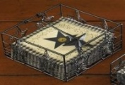 Black Star Lunch Napkin Holder