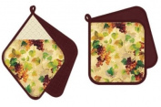 asd Living Potholder Pocket Mitt Set, Da'vine Design