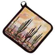 Southwestern Desert Sunset Cactus - Kay Dee Designs Potholder