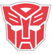 Transformers Autobots Insignia Car Magnet TMBS188
