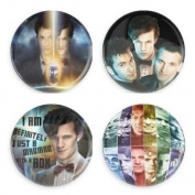 Doctor Who Generations 3.8cm Fridge Magnets Value Pack