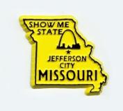 Missouri The show Me State United States Fridge Magnet