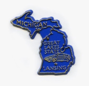 Michigan The Great Lakes State United States Magnet