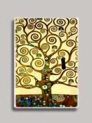 Gustav Klimt Tree of Life Refrigerator Magnet