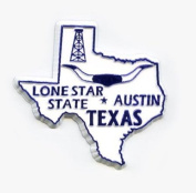 Texas The Lonestar State United States Fridge Magnet