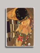 Gustav Klimt The Kiss Close Up Refrigerator Magnet