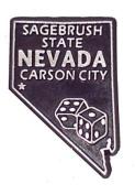 Nevada The Sagebrush State United States Fridge Magnet