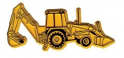 Construction Backhoe Fridge Magnet