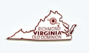 Virginia The Old Dominion State United States Fridge Magnet