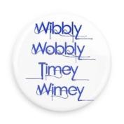 Doctor Who Wibbly Wobbly Timey Wimey 7.6cm Fridge Magnet