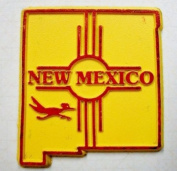 Classic New Mexico with Road Runner United States Fridge Magnet