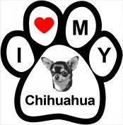 I Love My Breed Paw- Chihuahua
